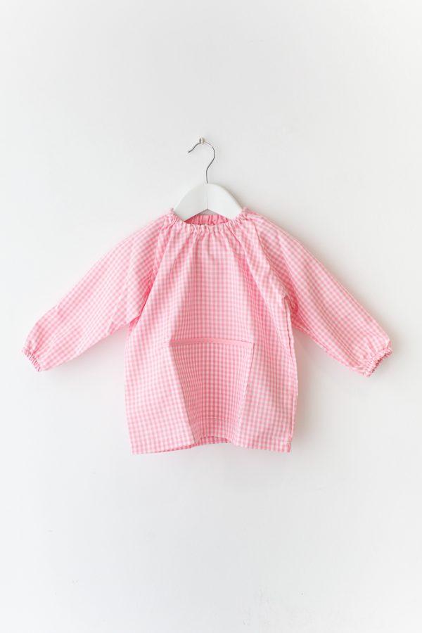 babi-escolar-basic-rosa-manga-larga-sin-botones