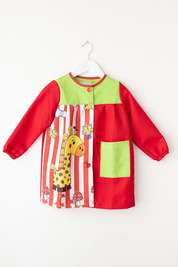 babi-escolar-melman-manga-larga-rojo-estampado-original