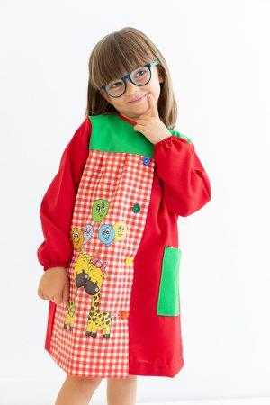babi-escolar-mimitos-manga-larga-rojo