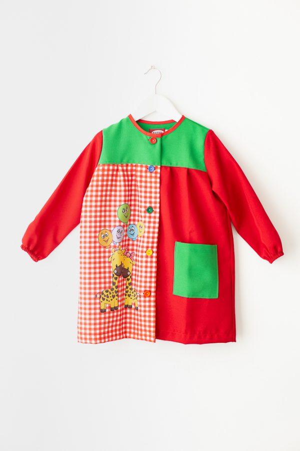 babi-escolar-mimitos-rojo-estampado-original