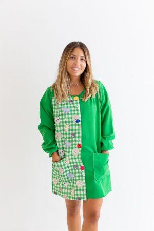 bata-maestra-manga-larga-safari-verde