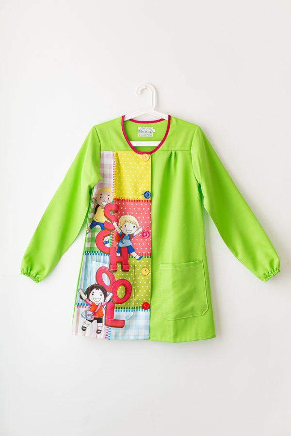 bata-maestra-manga-larga-school-botones-multicolor
