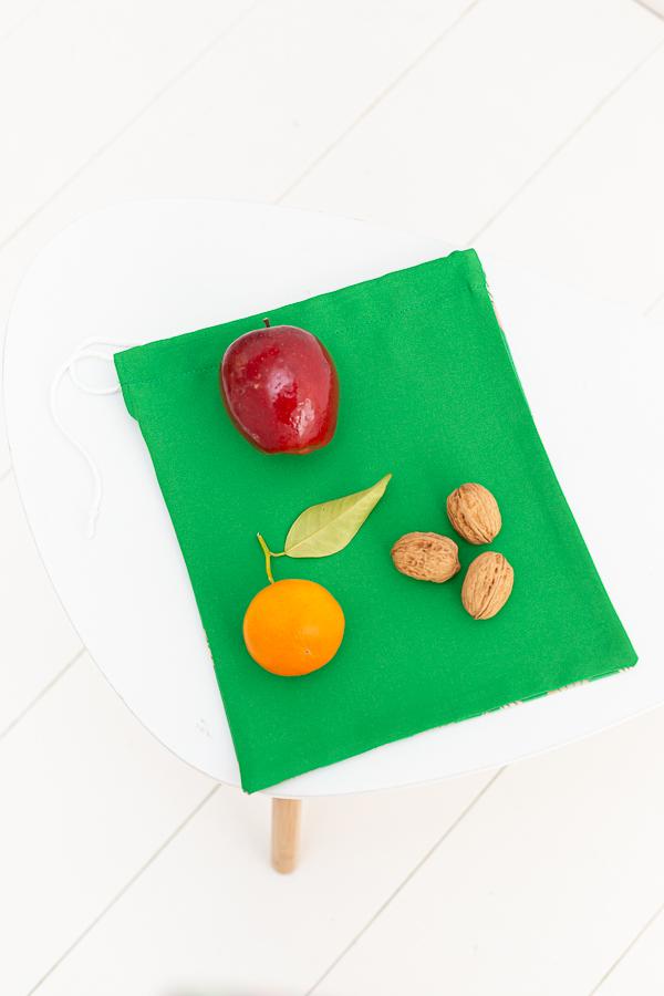 bolsa de tela escolar para guarderias