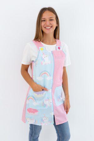 pichi-maestra-unicorn-vichy-rosa