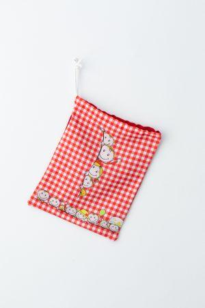 bolsa de tela para almuerzos simpaticos